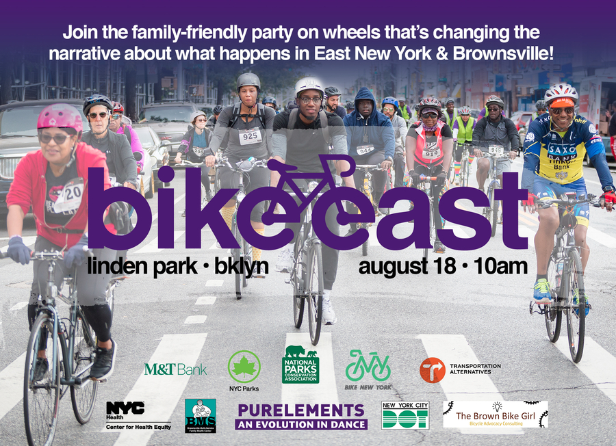 5th Annual Bike East to Activate Community Health and Highlight Local Businesses in East New York and Brownsville
