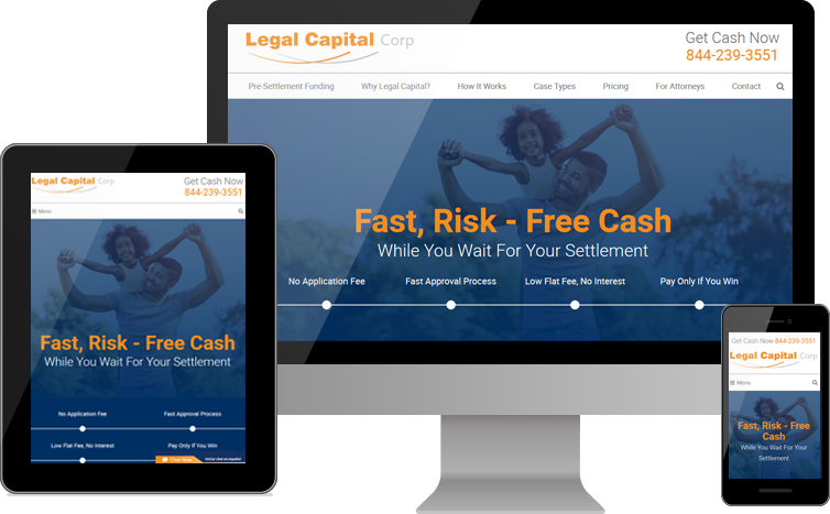 New Website for Legal Capital Corp Goes Live