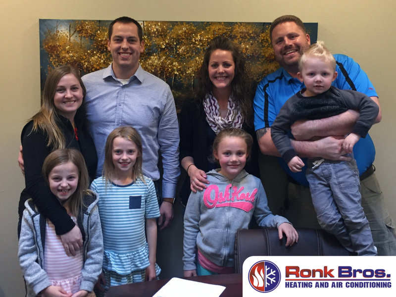 Ownership of Ronk Brothers Heating and Cooling Stays Within the Family