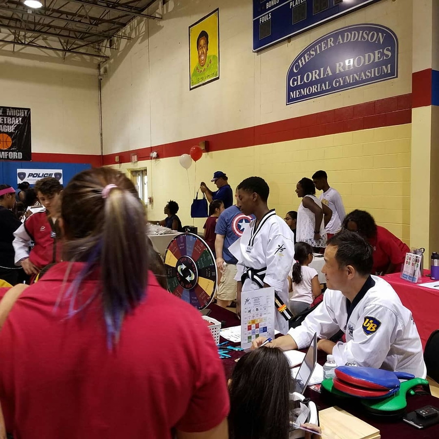 Power Health Tour Partnered with The Domus Kids-Chester Addison Community Center For a Kids and Family Back to School Event