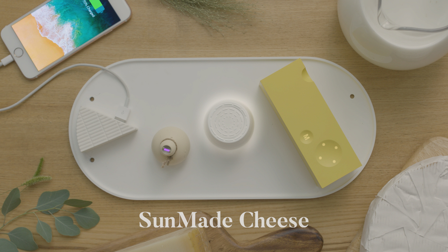 Creators of Million Dollar Selling Solar Paper Launch SunMade Cheese on Kickstarter