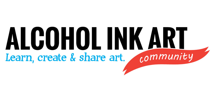 Art Community Announces New eLesson Store for Learning to Paint with Alcohol Ink!