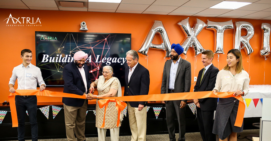 "Axtria® Continues to ""Build a Legacy"" as it Expands its Office Space"