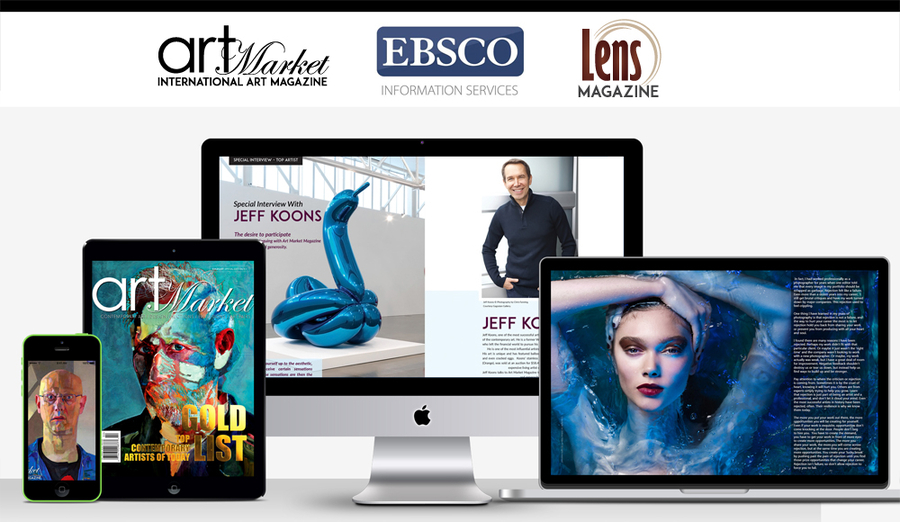 Art Market Magazine & Lens Magazine Announce a New Collaborative Partnership with EBSCO