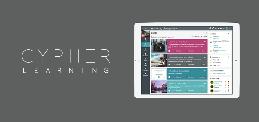 CYPHER LEARNING Releases New Features for its Products NEO and MATRIX