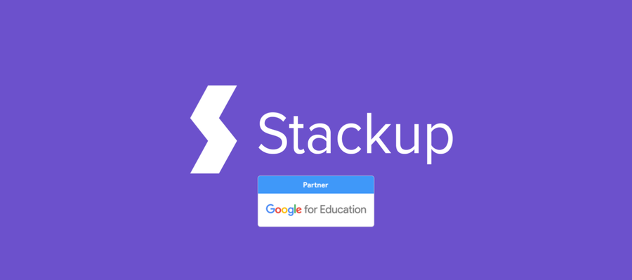 Stackup Joins the Google for Education Partner Program