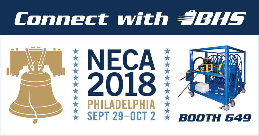 BHS, Inc. to Introduce Cable-Management Solutions, Electrical Equipment Carts at NECA 2018