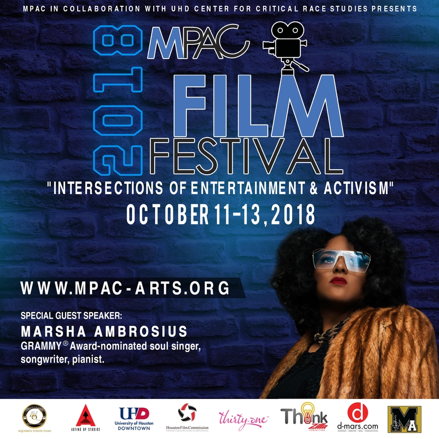 GRAMMY® Award-nominated Artist Marsha Ambrosius Guest Speaker for 2018 MPAC Film Festival!