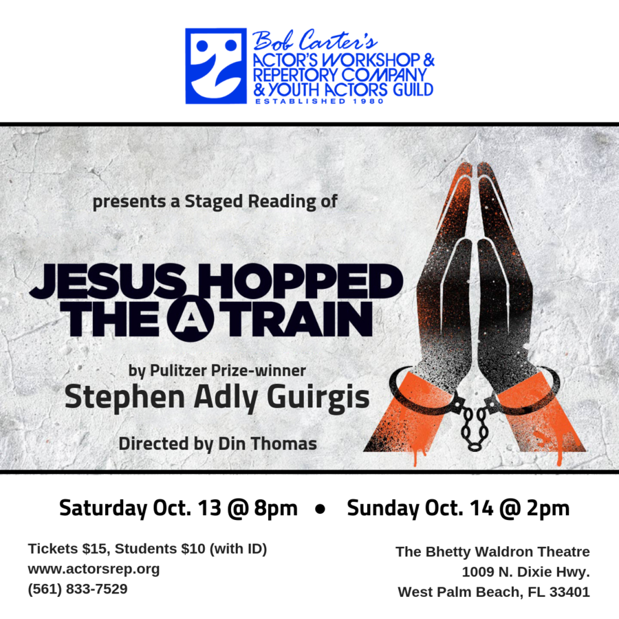 Actor's Rep Presents a Staged Reading of Jesus Hopped the 'A' Train