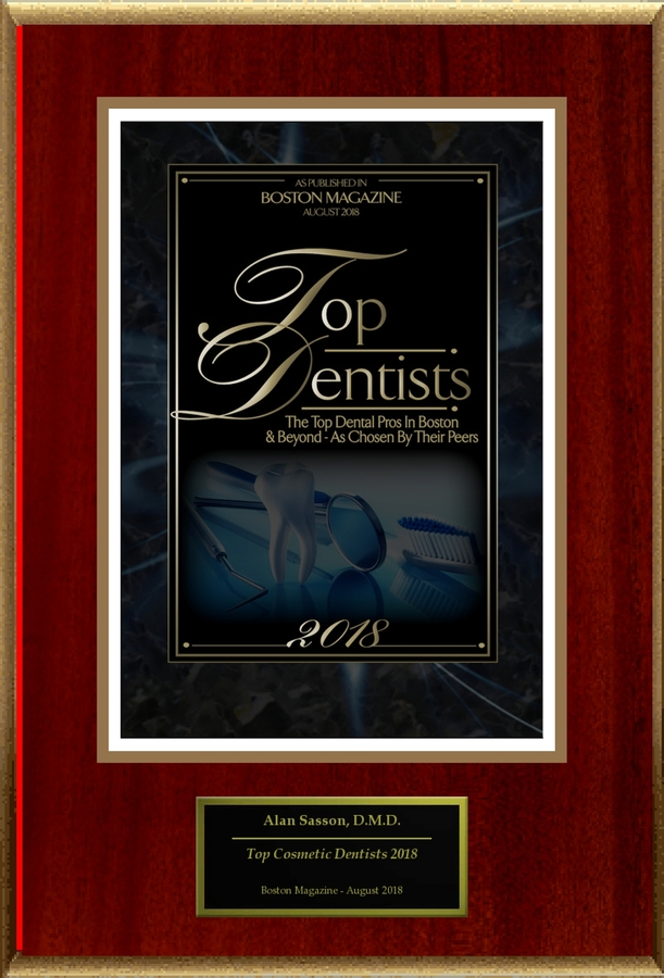 "Alan Sasson, D.M.D. Selected For ""Top Dentists 2018"""