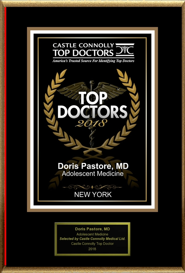 Dr. Doris Pastore is Recognized Among Castle Connolly Top Doctors® for NEW YORK, NY Region in 2018