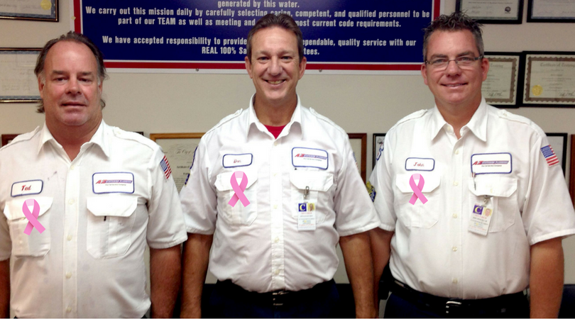 A to Z Statewide Plumbing Teams Up with the Florida Breast Cancer Foundation to End Breast Cancer