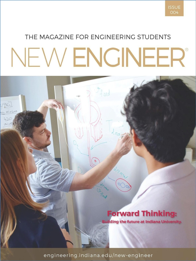 "NEW ENGINEER Featured Cover Story ""Forward Thinking: Building the Future at Indiana University"""