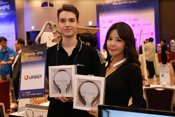 [MIK 2018] UFirst Reveals 'NUGUNA Neckband' to Protect Smartphone Zombies