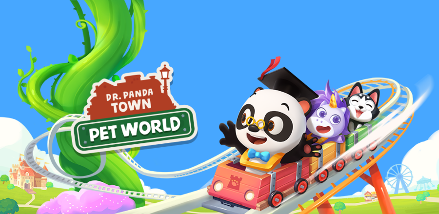 Dr. Panda Town: Pet World Introduces Kids To An Enchanted, Animal-Themed Amusement Park!