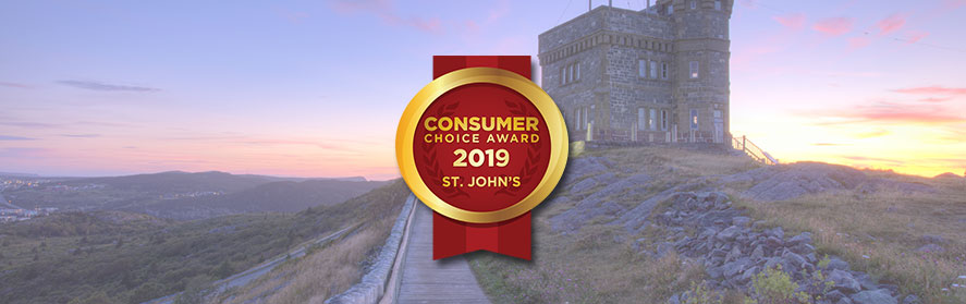 2019 St John's Consumer Choice Award Winners