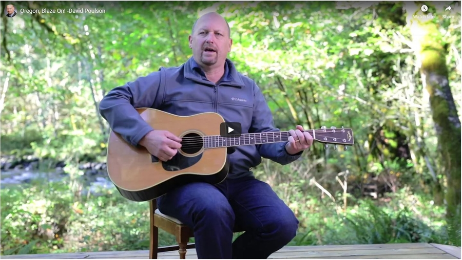Only in Oregon…Senate Candidate Sings Love Song in First Political Music Video