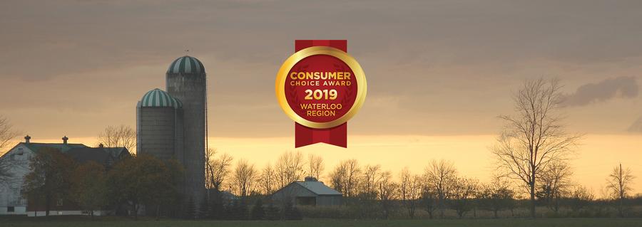 Waterloo Region 2019 Consumer Choice Award Winners