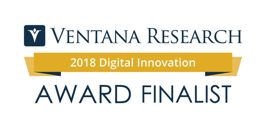 Ventana Research Announces 2018 Digital Innovation Awards Finalists