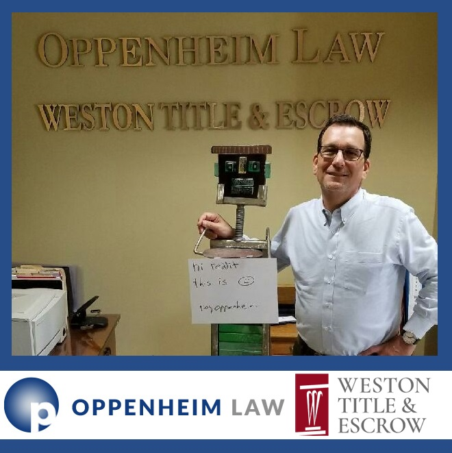 "Prominent Florida Foreclosure Attorney, Roy Oppenheim To Host ""Ask Me Anything"" Reddit on November 15th at 12 p.m."