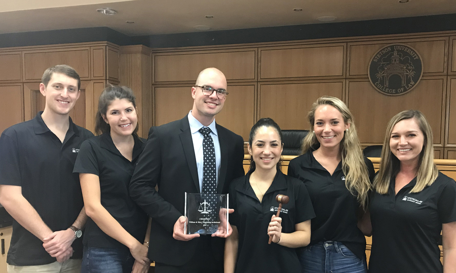 Stetson's Dispute Resolution Board Wins the William & Mary Law School Negotiation Tournament for the Third Year in a Row