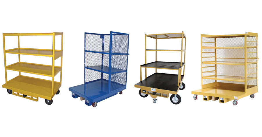 Custom-Built Industrial Carts from BHS, Inc. Meet Unique Specifications