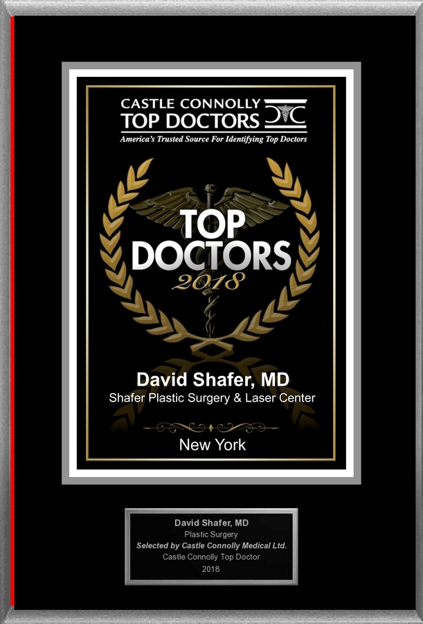 Dr. Shafer Plastic Surgery & Laser Center is Recognized Among Castle Connolly Top Doctors® for New York, NY Region in 2018