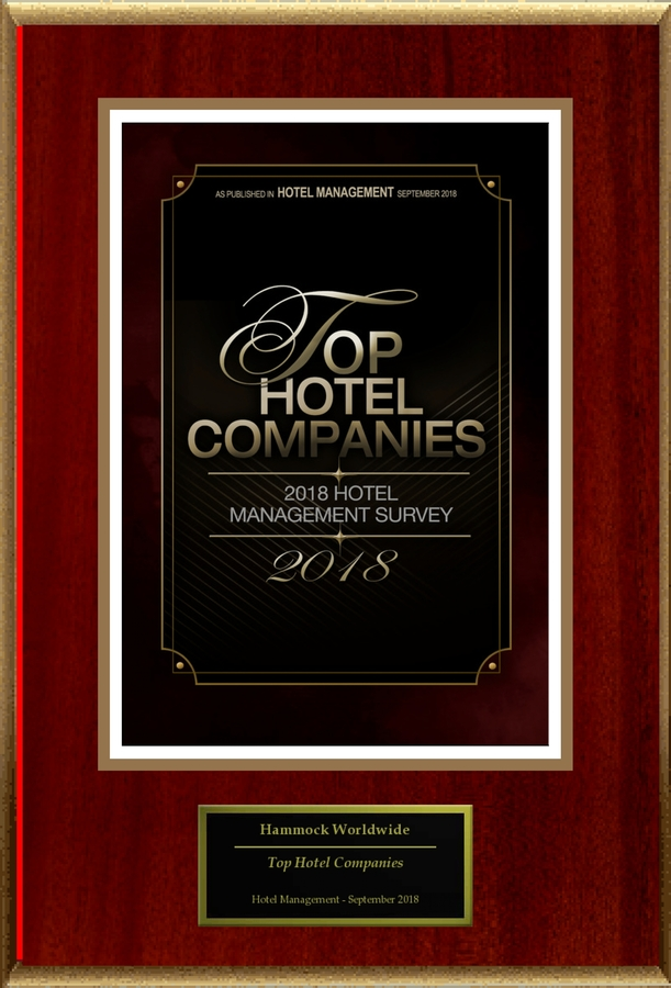 "Hammock Worldwide Selected For ""Top Hotel Companies"""