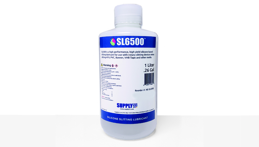 Supply55 Releases SL6500™ a Silicone Lubricant Engineered for use with Roll Slitters