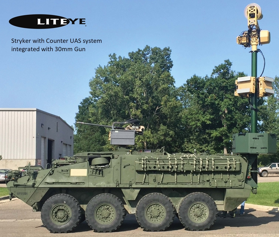 Liteye Systems Provides Mobile, Networked, Electronic Capabilities to Counter Unmanned Aircraft Systems and Ground Threats During U.S. Army's Maneuver and Fires Integration Exercise (MFIX 18)