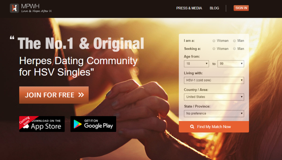 MPWH Celebrates Success as #1 Rated & Reviewed Dating Service for Herpes Singles