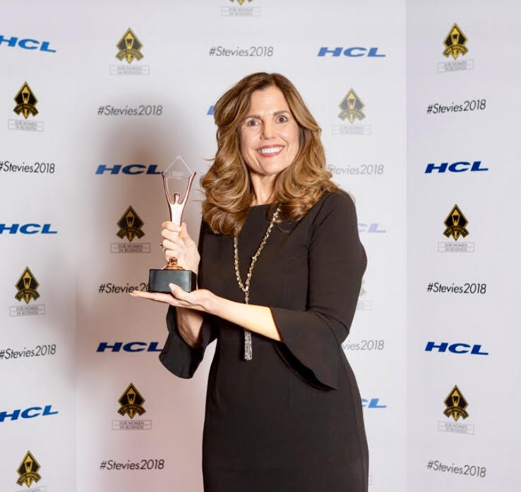 Mary Mills of United Franchise Group Receives Stevie® Award