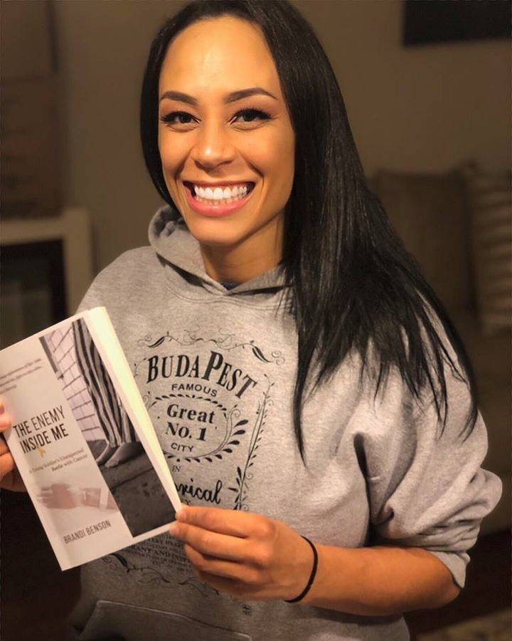 "Former US Army Veteran & Cancer Survivor, Brandi Benson releases Gripping Tale about her Battle with a Rare Type of Cancer ""Ewing's Sarcoma"" in her Debut Book ""The Enemy Inside Me"""