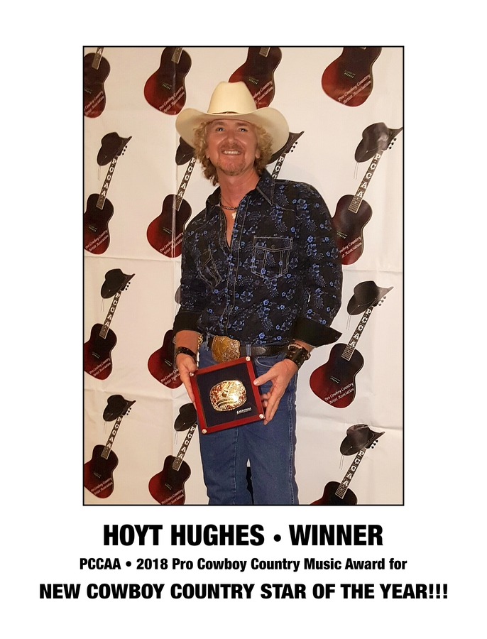 PCCAA Award Win and New EP Release/Music Artist, Hoyt Hughes of Cowboy Records (Burbank)