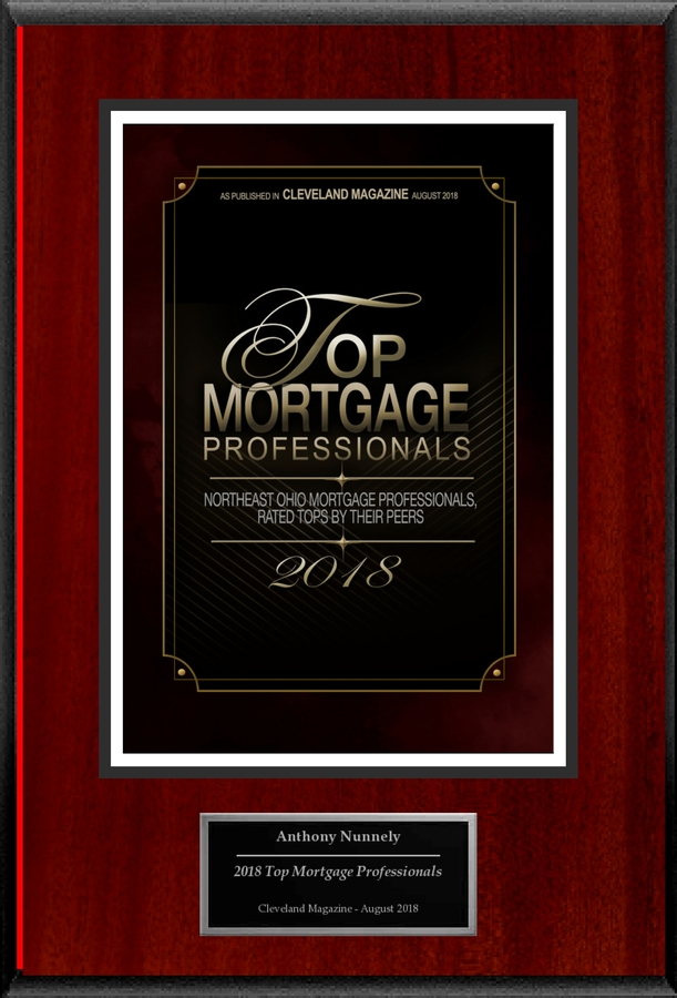 "Anthony Nunnely Selected For ""2018 Top Mortgage Professionals"""