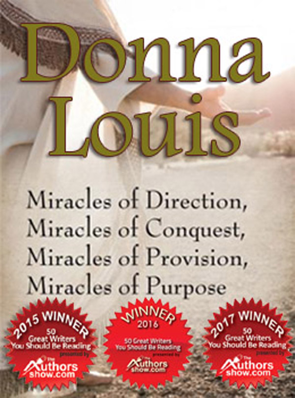 Award Winning Author Of Christian Books, Donna Louis, Named As One Of '50 Great Writers You Should Be Reading' In 2018 Book Awards, Just In Time For The Holidays