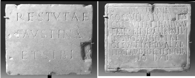 Rare Ancient Funerary Plaque with Corrections Subject of New Scholarly Research