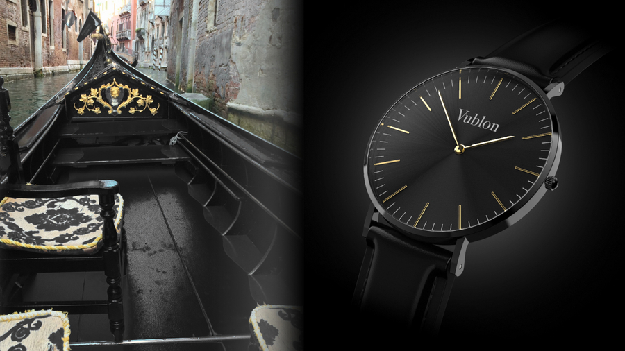 New Italian Design Watch Inspired by Venetian Gondolas