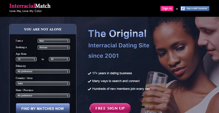 Interracial Match: The Oldest, Genuine and Most Successful Interracial Dating Platform