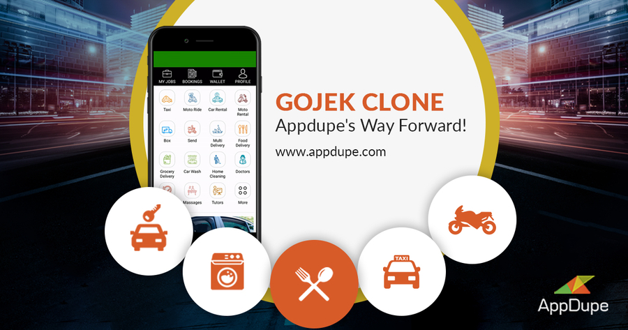 GoJek Clone- AppDupe's Way Forward