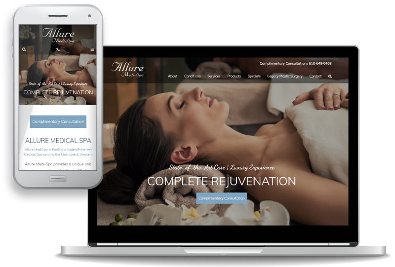 Allure Medi-Spa Opens New Office, Unveils New Website