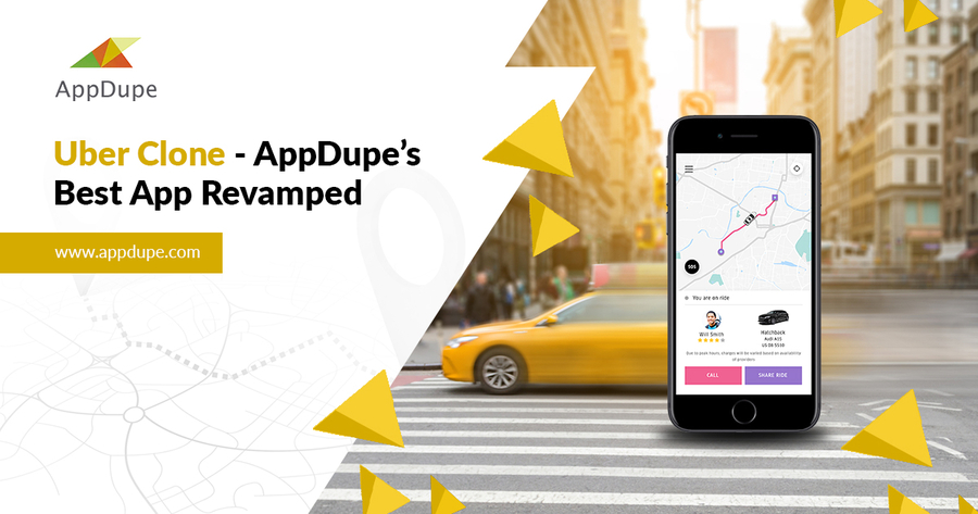 Uber Clone – AppDupe's Best App Revamped