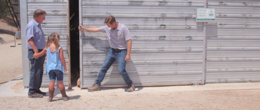 Chino Valley Ranchers Video Offers Tour of Their Certified Organic Feed Mill
