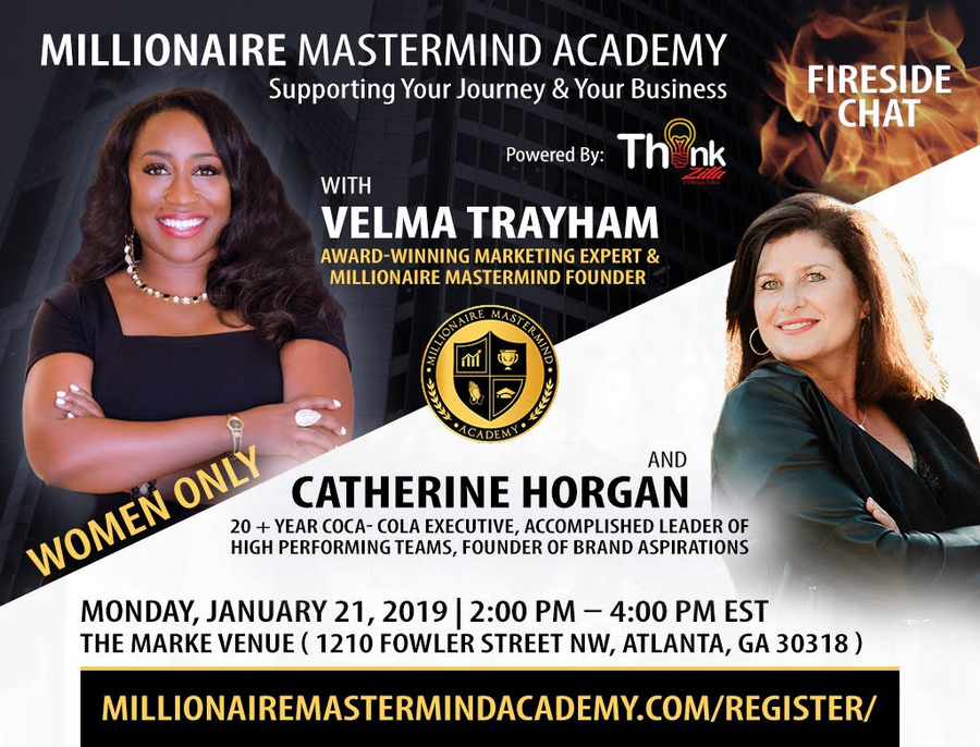 Atlanta Millionaire Mastermind Group Features Catherine Horgan, Advocate for Women, Leadership and Diversity, on January 21st