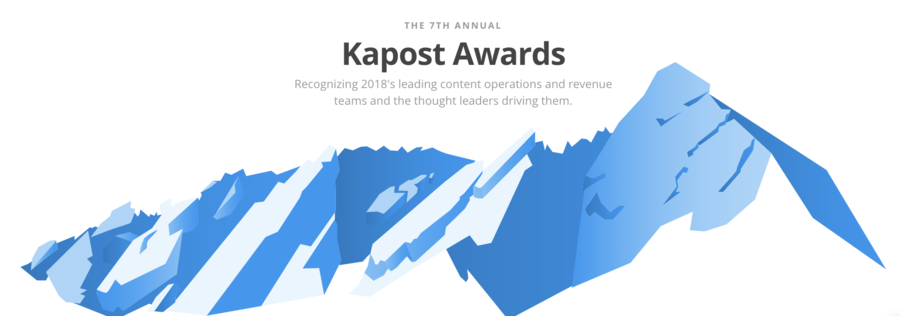 Kapost Announces Content Operations Award Winners