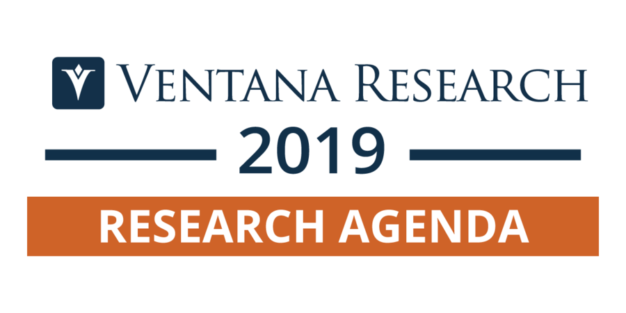 Ventana Research Publishes 2019 Research Agenda for Technology in Business