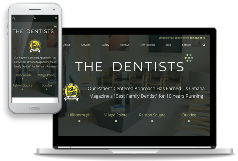 The Dentists Launches New Website to Serve Patients at All 4 Offices in Omaha, Nebraska