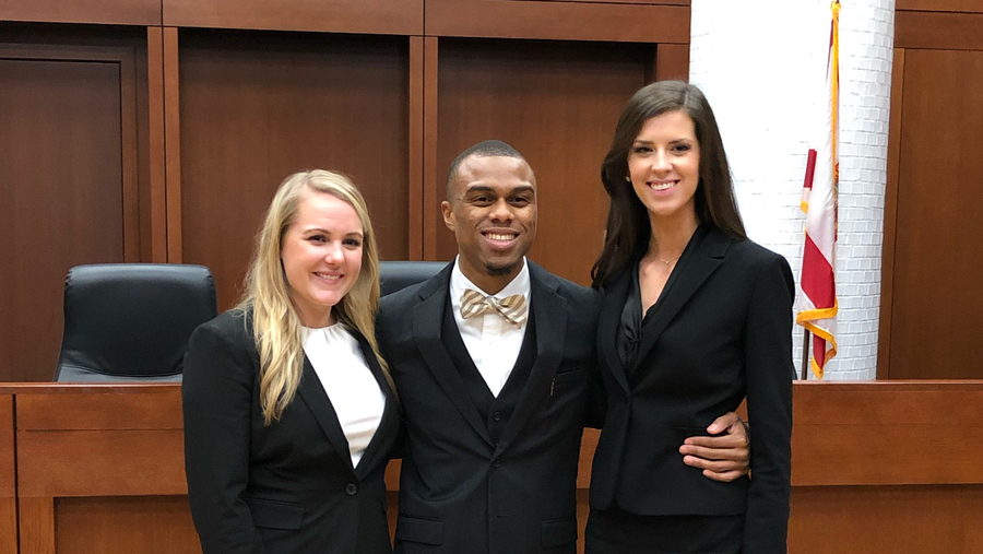 Stetson Law Team Advances to National Trial Competition