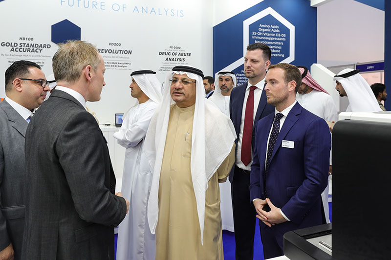 Director General of the Dubai Health Authority Opens 18th Edition of MEDLAB in Dubai