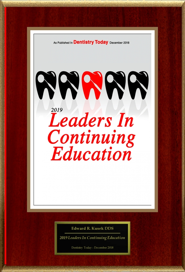 "Edward Kusek Selected For ""2019 Leaders In Continuing Education"""